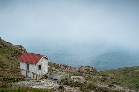 Hillside shack